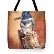 Kingfisher I Tote Bag