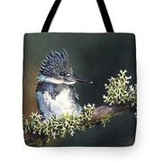 Kingfisher II Tote Bag