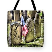 King's Chapel Cemetery  Tote Bag
