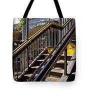 Kings Hwy Subway Station In Brooklyn Tote Bag