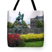 Kings Square Statue Of Christian 5th Tote Bag