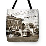Kingston Corners Kingston Pa Early 1950s Tote Bag