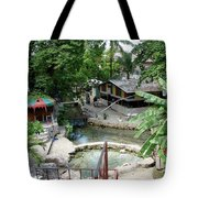 Kingston Jamaica Plaza Tote Bag