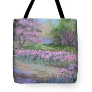 Kingwood Tulips Tote Bag