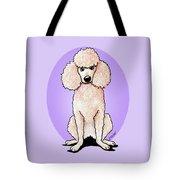 Kiniart Poodle Tote Bag