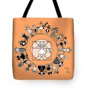 Kinky Kitty - The Kinky Mndala Tote Bag