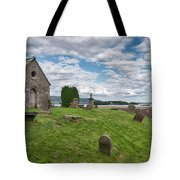 Kinross Cemetery On Loch Leven Tote Bag