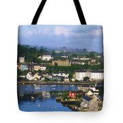 Kinsale, Co Cork, Ireland View Of Boats Tote Bag