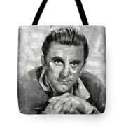 Kirk Douglas Hollywood Actor Tote Bag