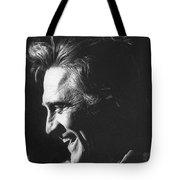 Kirk Douglas Laughing Old Tucson Arizona 1971 Tote Bag