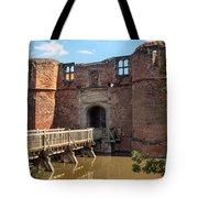 Kirkby Muxloe Castle Tote Bag