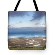 Kirkjufell And Grundarfjordur From On High Tote Bag
