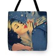 Kiss Goodnight Tote Bag