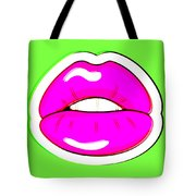 Kiss Me Tote Bag by Bee-Bee Deigner