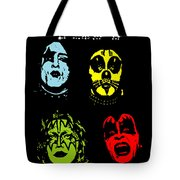 Kiss No.02 Tote Bag by Caio Caldas