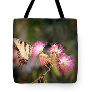 Kiss Of Butterfly Tote Bag
