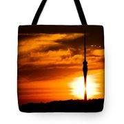 Kiss Of Morning Sun Tote Bag