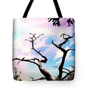 Kiss Of Spring Hues Tote Bag