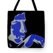 Kiss Of The Blues Tote Bag
