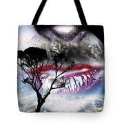 Kiss Of The Moon Tote Bag