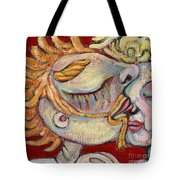 Kiss On The Nose Tote Bag