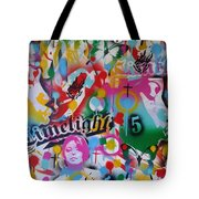 Kiss The Rainbow Tote Bag