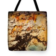 Kissed By Autumn's Winds Tote Bag