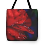 Kisses In The Rain Tote Bag