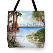 Kissimee River Shore Tote Bag