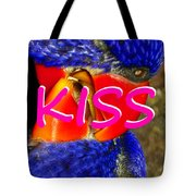 Kissing Birds Spca Tote Bag