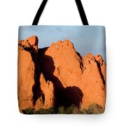 Kissing Camels Formation At Garden Of The Gods Tote Bag