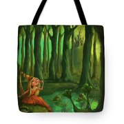Kissing Frogs Tote Bag by Andy Catling