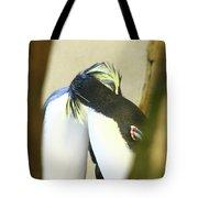 Kissing Pennguins Tote Bag