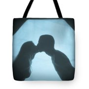 Kissing Tote Bag