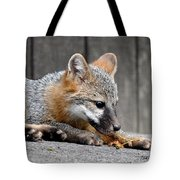 Kit Fox3 Tote Bag