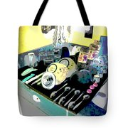 Kitchen Composition Tote Bag by Eikoni Images