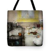 Kitchen - How I Bake Bread 1923 Tote Bag