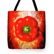 Kitchen Red Pepper Art Tote Bag