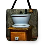 Kitchen - Retro Coffee Maker Tote Bag