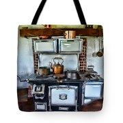 Kitchen - The Vintage Stove Tote Bag