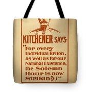 Kitchener Redux - Vote Tote Bag