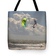 Kite Boarding Buxton Obx  Tote Bag