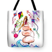 Kite Cather Tote Bag
