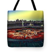Kite Hill Sundial Tote Bag