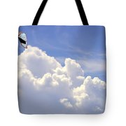 Kite In The Clouds Obx Buxton North Carolina Tote Bag