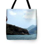 Kite Surfer St Kitts Tote Bag