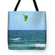 Kitesurfer Dude Tote Bag