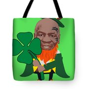 Kith Me I'm Irith Funny Novelty Mike Tyson Inspired Design For St Patrick's Day Tote Bag