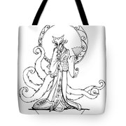 Kitsune Lady Tote Bag