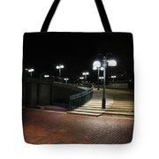 Kittamaqundi Nights - Fountain Stairway Tote Bag